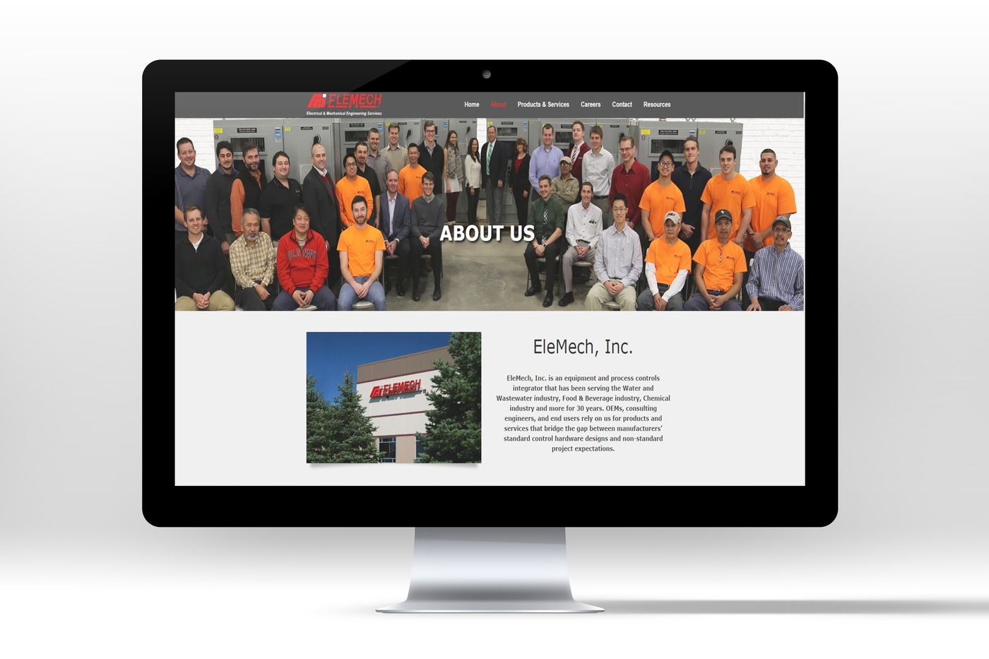 Website Electrical Manufacturing Company Black Line It