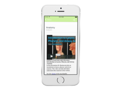 Medical Encyclopedia Mobile App