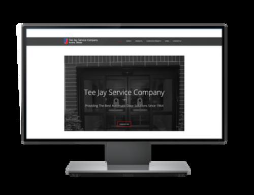 Website For Tee Jay Service Company